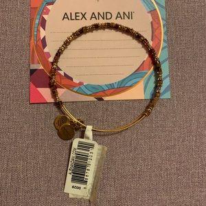 Alex and ani red bead bracelet
